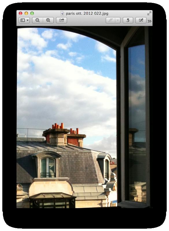 il cielo di parigi