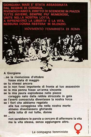femministe giorgiana masi f
